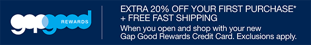 Gap credit offers