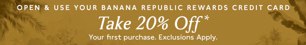Banana Republic credit offers