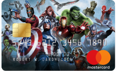 Marvel Heros Card