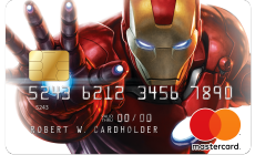 Marvel Iron Man Card